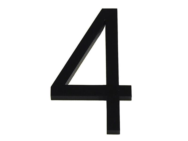 Numéro de maison 4 polyester 6cm