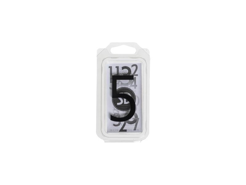 Numéro de maison 5 polyester 6cm