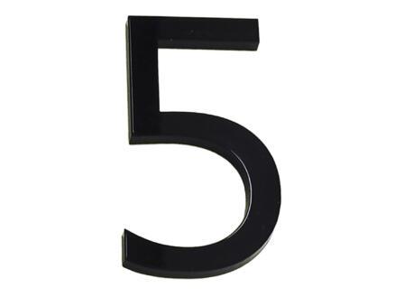Numéro de maison 5 polyester 9cm