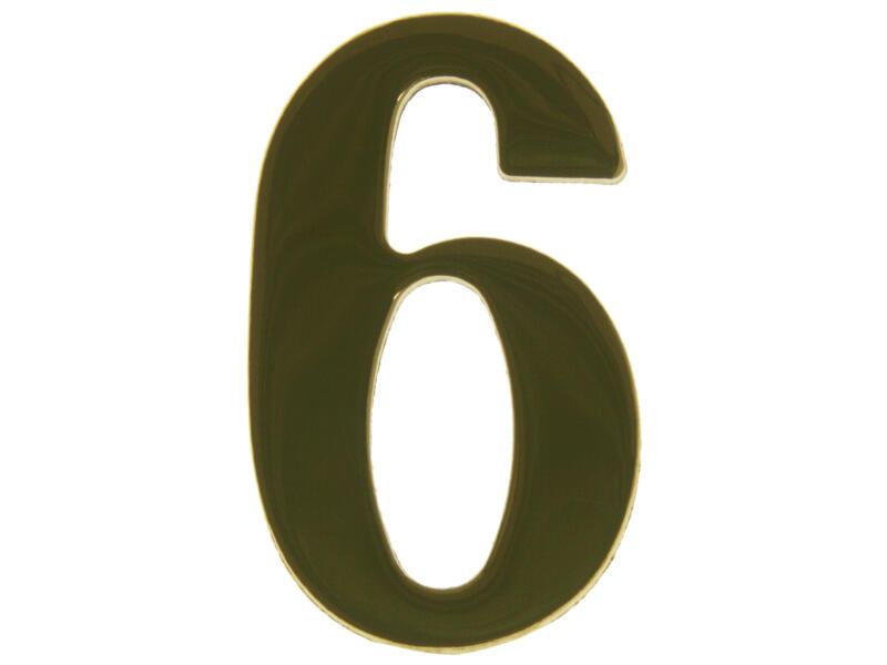 Yale Numéro de maison 6 laiton 50mm