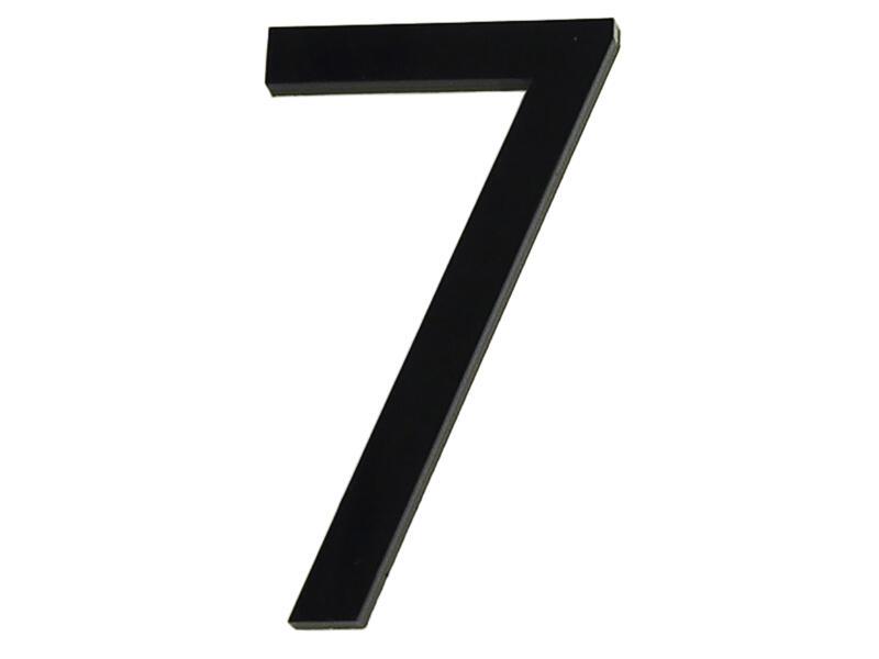Numéro de maison 7 polyester 6cm