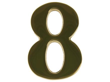Yale Numéro de maison 8 laiton 50mm