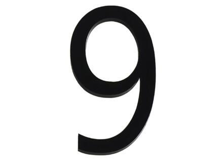 Numéro de maison 9 polyester 6cm