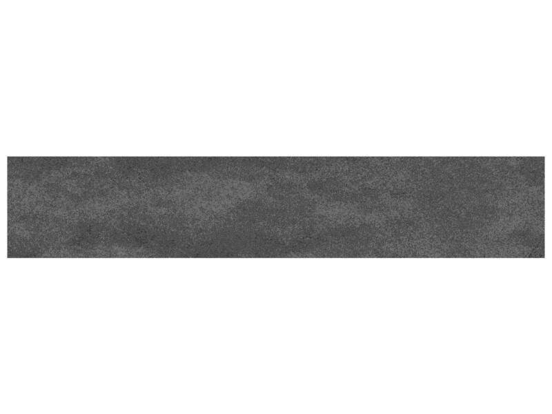 Nuvola keramische plint 7,2x45cm antraciet 2,25lm/doos