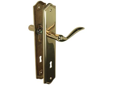 Yale Nymphe BB90 poignée de porte avec plaques 50mm set complet laiton