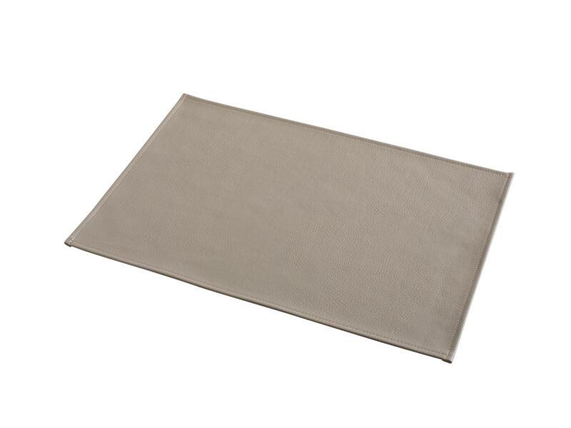 Odette set de table 45x30 cm taupe