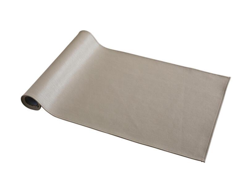 Odette Odette tafelloper 135x45 cm taupe