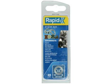 Rapid Oeillet 21x10 mm 25pièces