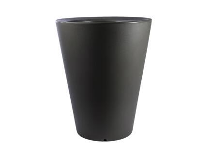 Olla 100 pot à fleurs conique 47cm taupe