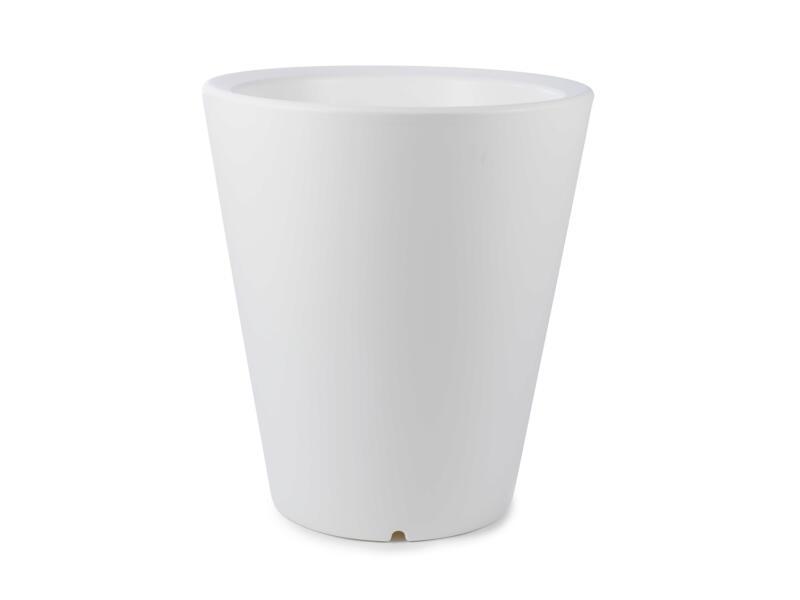 Olla 70 pot à fleurs 60cm blanc