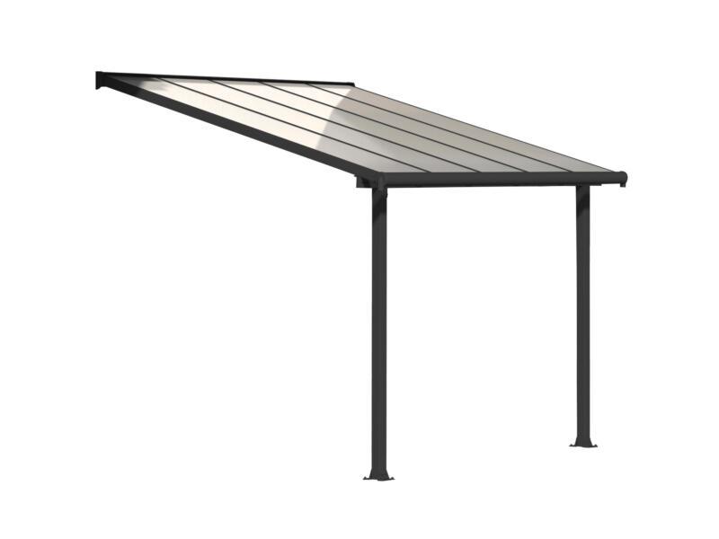 Palram Olympia pergola 3,07x3 m transparent/gris