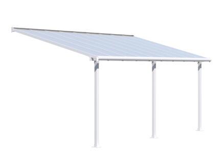 Palram Olympia pergola 5,46x3 m transparent/blanc
