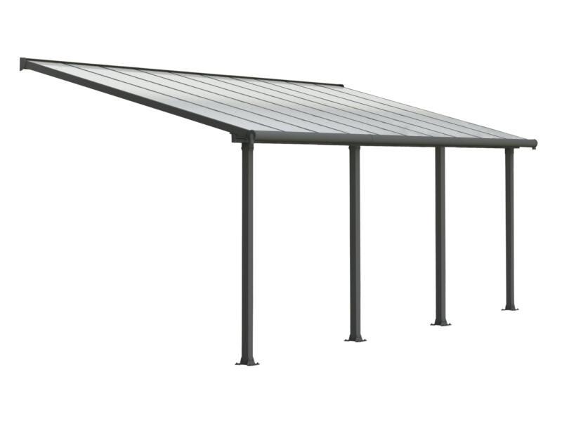 Palram Olympia pergola 6,19x3 m transparent/gris