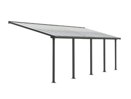 Palram Olympia pergola 7,39x3 m transparent/gris