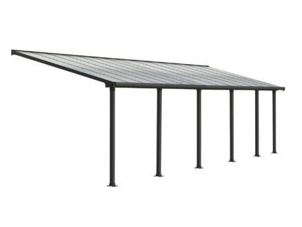 Palram Olympia pergola 8,6x3 m transparent/gris