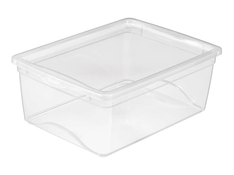 Sunware Omega Clearbox boîte de rangement 11l transparent 6 pièces