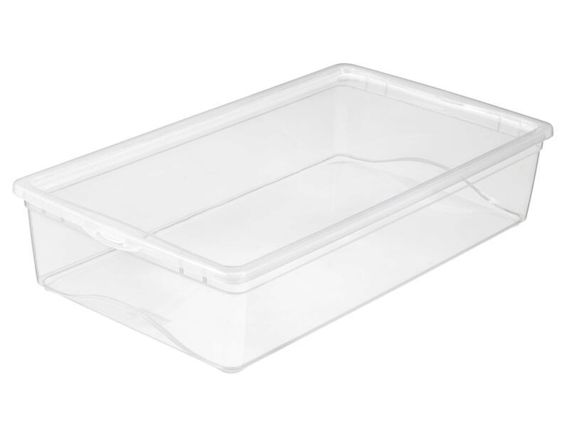Sunware Omega Clearbox boîte de rangement 19l transparent 3 pièces