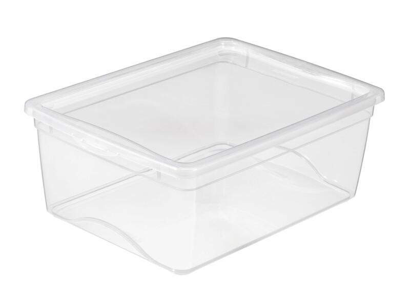 Sunware Omega Clearbox opbergbox 18l transparant 3 stuks