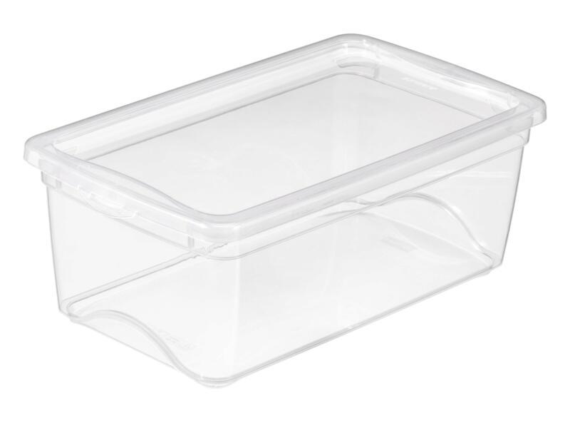 Sunware Omega Clearbox opbergbox 6l transparant 6 stuks