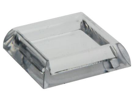 Sam Onderzetter 30x30 mm transparant 4 stuks
