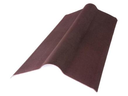 Onduline Onduvilla faîtière 90x50 cm bitume rouge