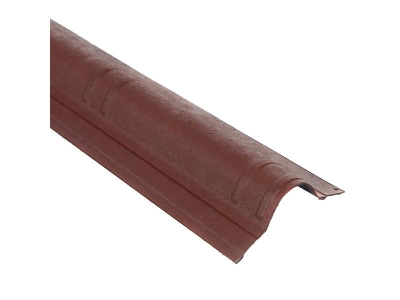 Onduline Onduvilla faîtière mince 106x18 cm bitume rouge