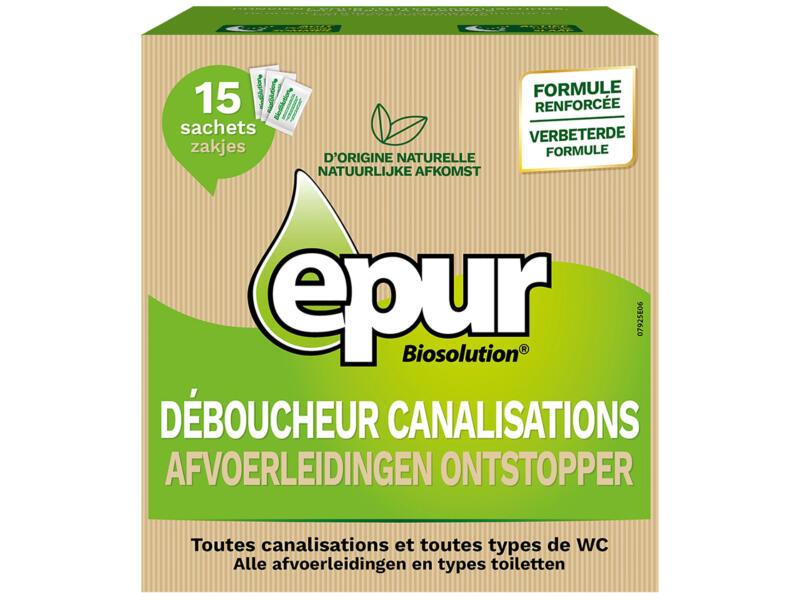 Epur Ontstopper afvoerleidingen biologisch 525g