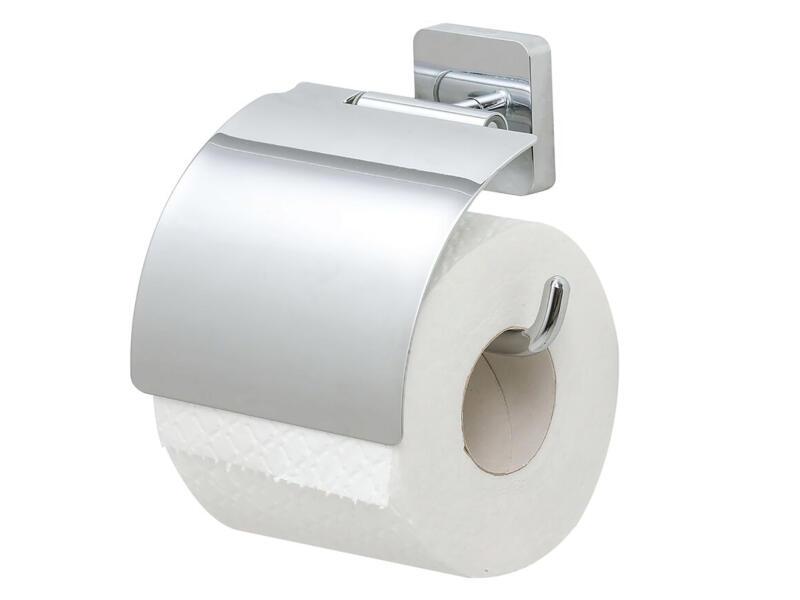 Tiger Onu WC-rolhouder met klep chroom