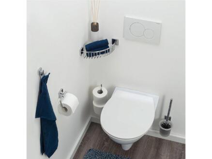 Tiger Onu brosse WC avec support mural chrome