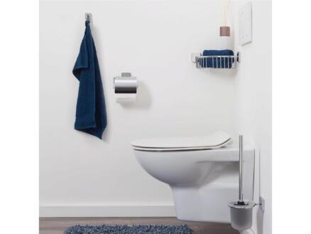 Tiger Onu porte-papier toilette avec clapet chrome