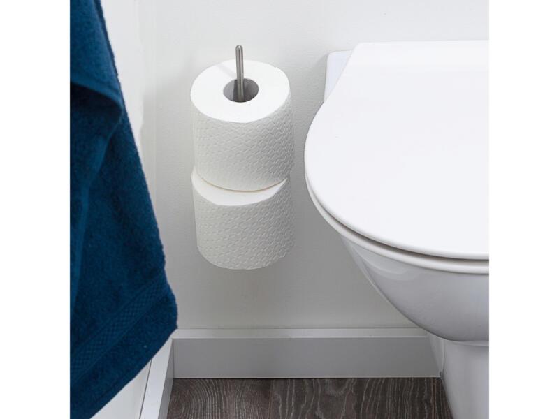 Tiger Onu support papier toilette inox brossé