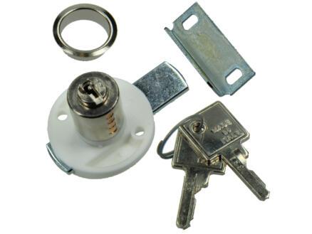 Oplegcilinder wit l/r 20mm