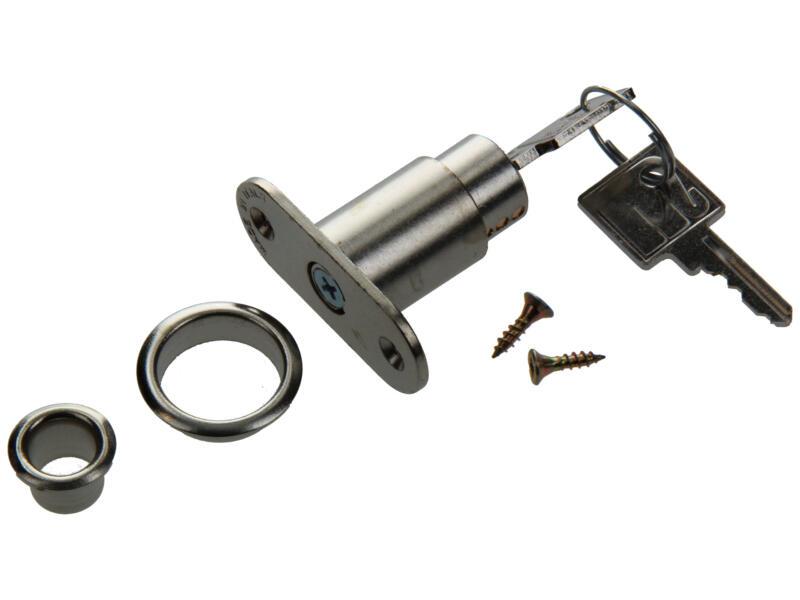 Oplegcilinderslot schuifdeur 25mm