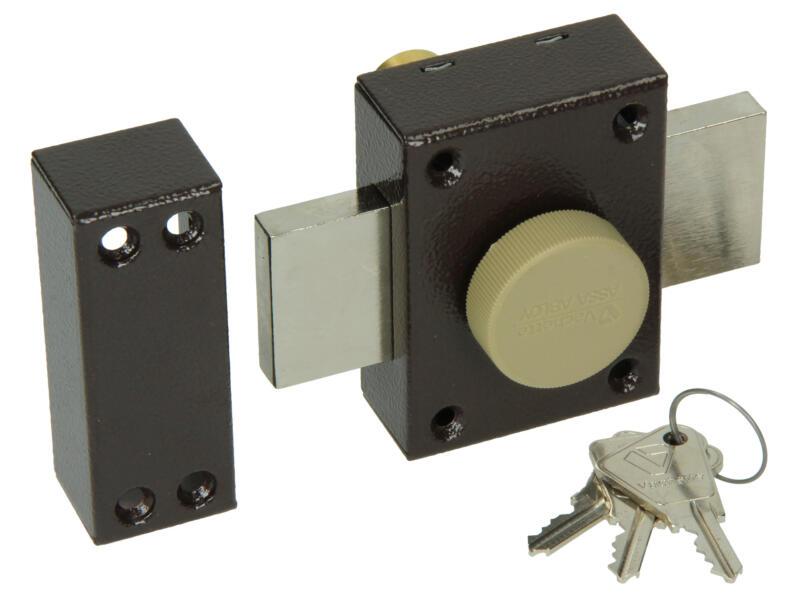 Yale Oplegveiligheidsslot 30-45 mm met bevestigingstoebehoren