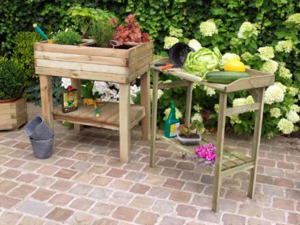 Garden Plus Oppottafel Flora 80x40x85 cm