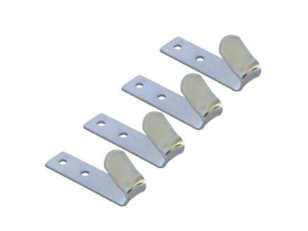 Carpoint Opschroefhaak metaal 72mm 4 stuks