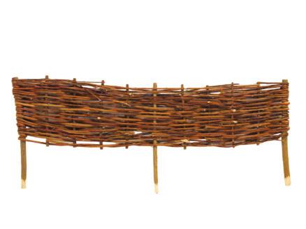 Orba wilgenborder gevlochten 90x22,5 cm