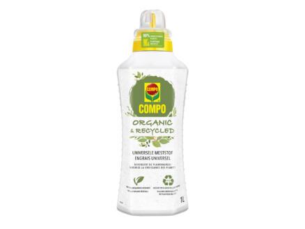 Compo Organic & Recycled engrais liquide universel 1l