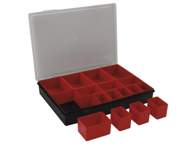 TAYG Organizer 33x24,7x5,4 cm 16 compartimenten