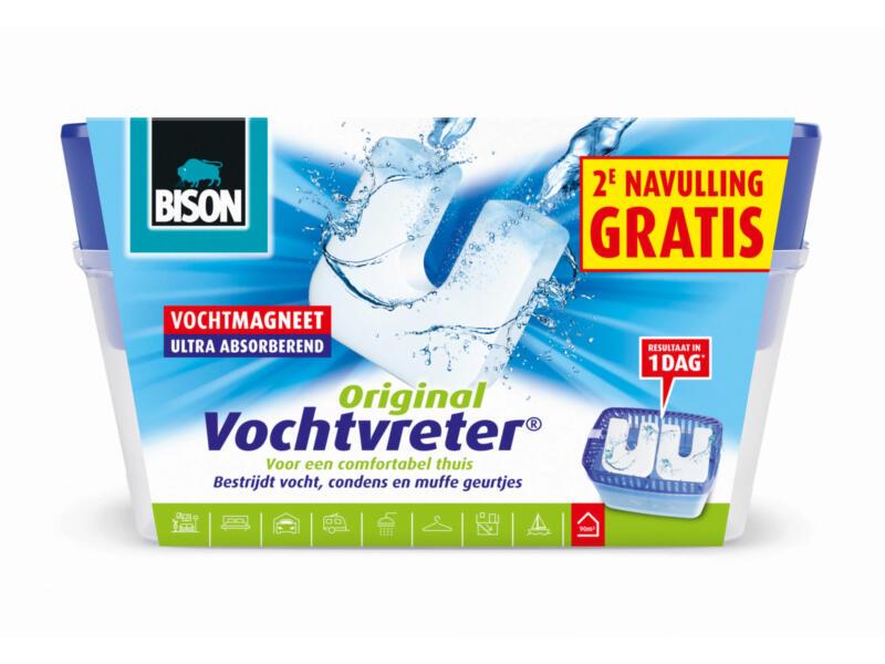 Bison Original absorbeur d'humidité 900g + 2e recharge gratuite