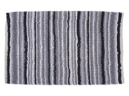 Differnz Origo tapis de bain 100x60 cm gris