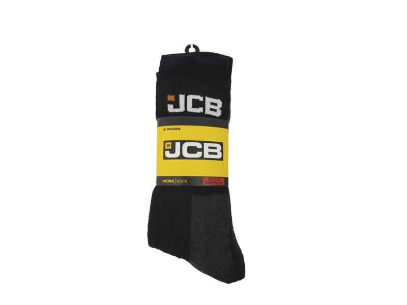 JCB Outdoor Activity chaussettes 44-47 3 paires