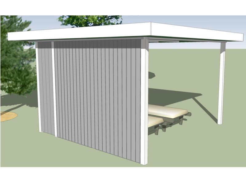 Gardenas Outdoor Modus Base pavillon 350x350 cm