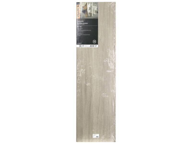 CanDo Overzettrede 130x38 cm burgos eik lichtgrijs