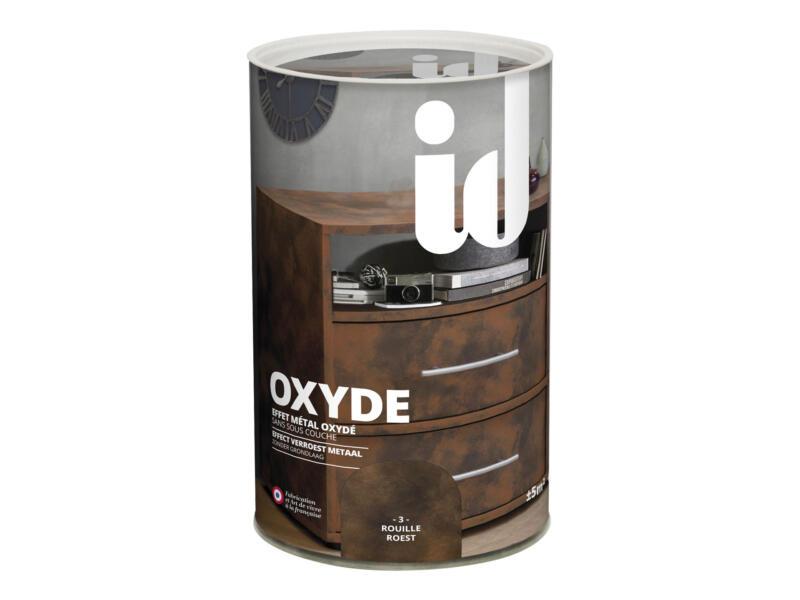 Oxyde houtvernis zijdeglans 0,6l roesteffect