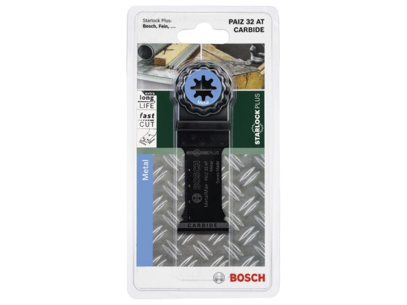 Bosch PAIZ 32 AT lame de scie plongeante carbure 32mm métal