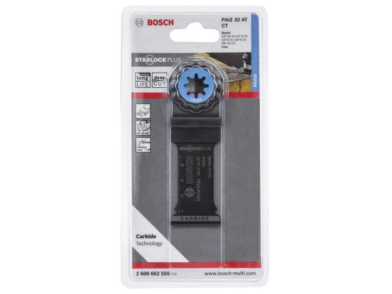 Bosch Professional PAIZ 32 AT lame de scie plongeante carbure 32mm métal