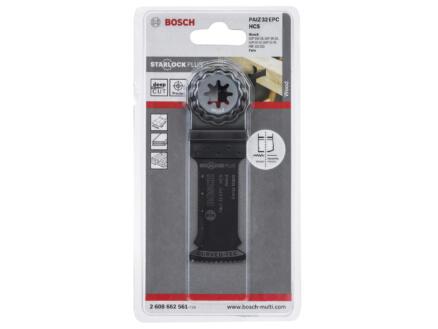 Bosch Professional PAIZ 32 EPC lame de scie plongeante HCS 32mm bois