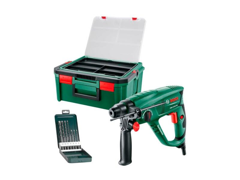 Bosch PBH 2100 RE marteau-perforateur SDS-Plus 550W + SystemBox