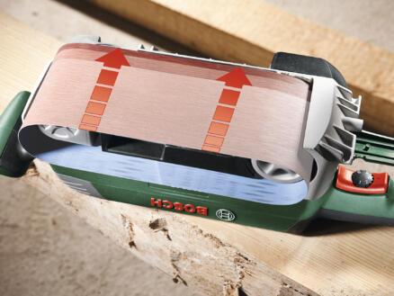 Bosch PBS 75 AE bandschuurmachine 750W